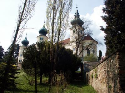 Kirche und Schloss