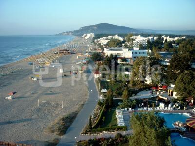 Strand von Albena/Bulgarien