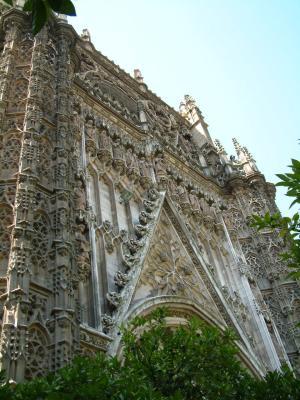 Fassade der Kathedrale Santa Maria de la Sede