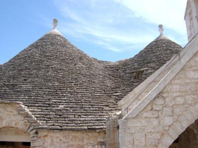 Ein Trullo in Alberobello