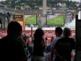 WM ohne Ticket:  public viewing