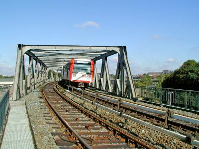 Linie U2 in Hamburg
