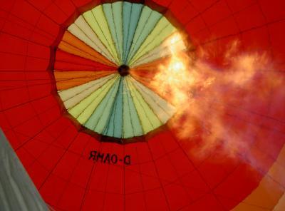 Ballon von Inneren
