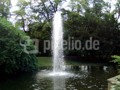 Fontäne in Gießen