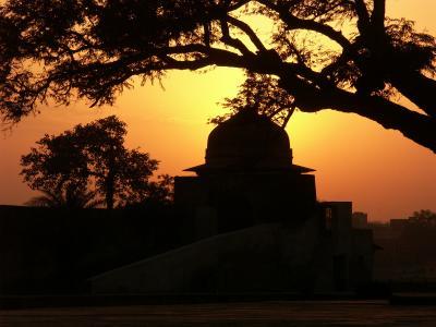 Sonnenuntergang Indien