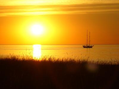 Ostsee Sonnenuntergang 2