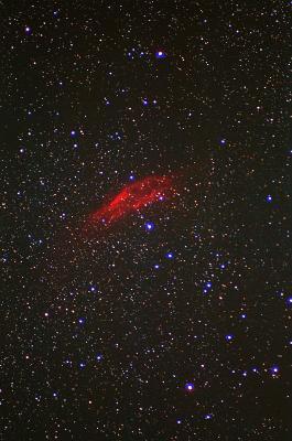 Gasnebel im Weltraum