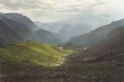 Blick von der Glorerhütte