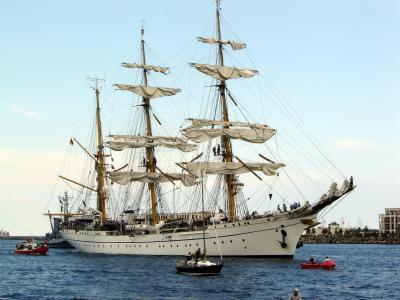 Gorch Fock auf der Hanse Sail