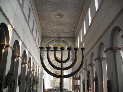 Leuchter im Würzburger Dom
