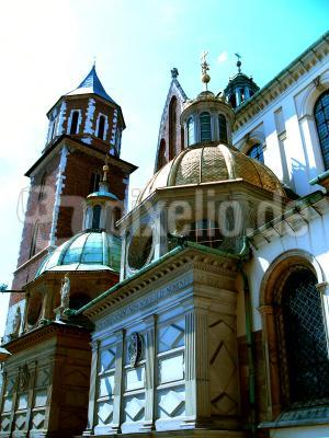 Wawel der Hof