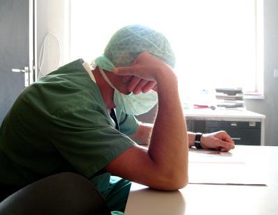 wartender Arzt