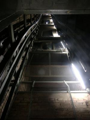 »Neues« Rathaus Hannover - Fahrstuhl