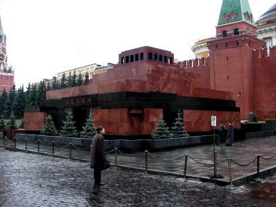 Lenin-Mausoleum in Moskau