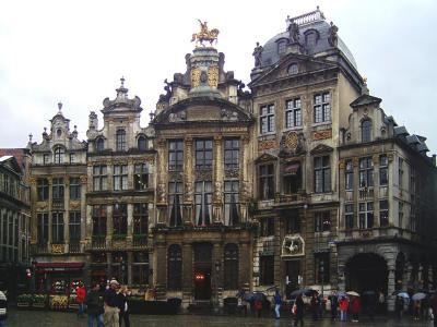 Häuser am Grand Place Brüssel