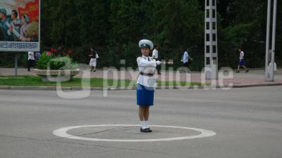 Trafficlights in DPRK