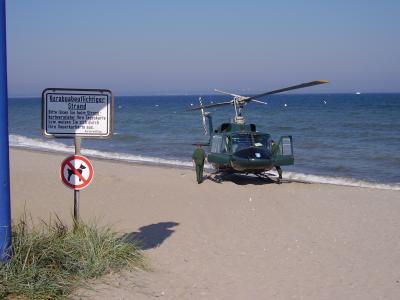 Rettungseinsatz an der Ostsee