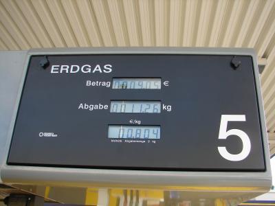 Erdgas tanken #2