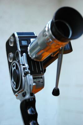 Bolex E8 8 mm Filmkamera