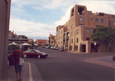 Santa Fe, NM, Downtown