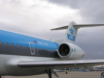 Fokker 70 - Amsterdam Schiphol