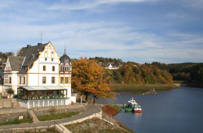 Oktobertag in Saalburg