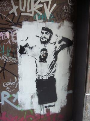 Graffiti - Che mit Che-T-Shirt