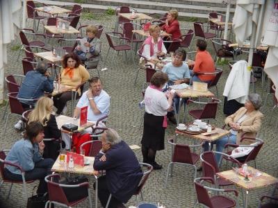Cafe im Forum