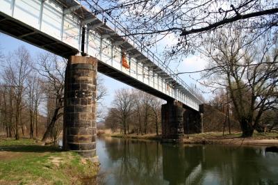 Alte Eisenbahnbrücke in Altenzella