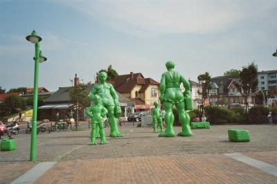 Bahnhofvorplatz Westerland/Sylt