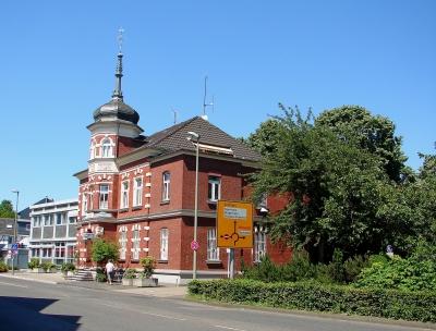 Historisches Polizeigebäude in Leichlingen von 1892