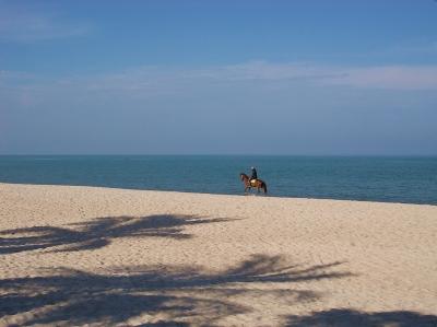 Am Strand von Cha Am-Thailand-