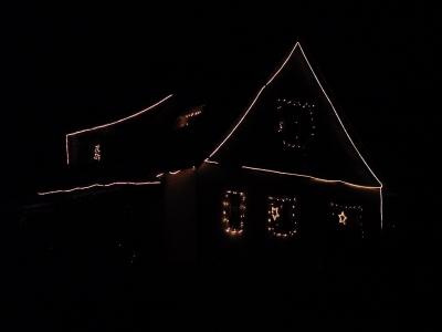 illuminiertes Haus #2