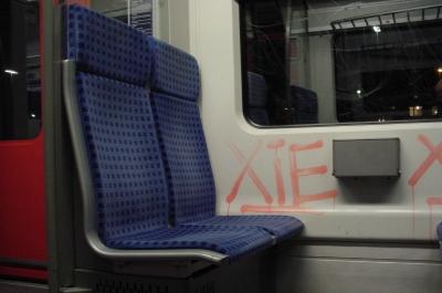 S-Bahn Sitz