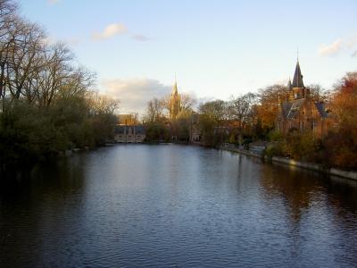 Brugge im Herbst