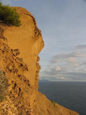 Steilküste ...