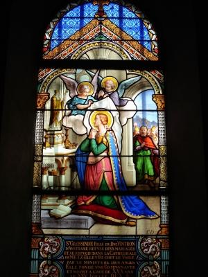 Kirchenfenster im Kloster der Hl. Glossinde