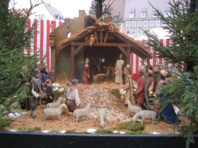 Krippe, Nürnberger Christkinlesmarkt