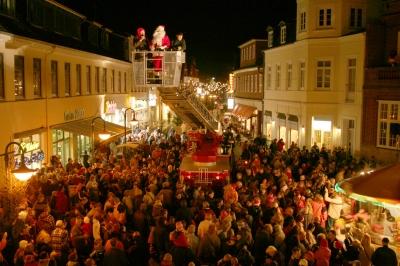 Weihnachtsmannwecken in Bad Segeberg
