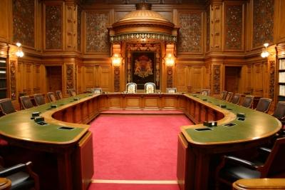 Rathaus Hamburg: Ein Blick ins Senatsgehege