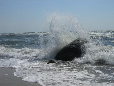 Vom Meer umspült