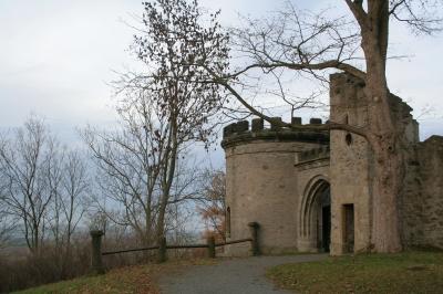 Ruine im Labyrinth in Hof