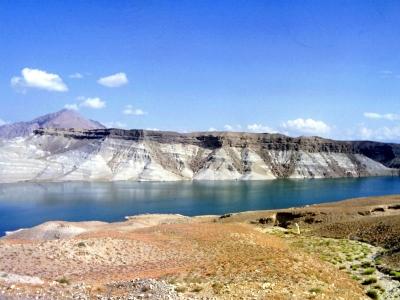 Gewässer in der Nähe von Kabul in Afghanistan