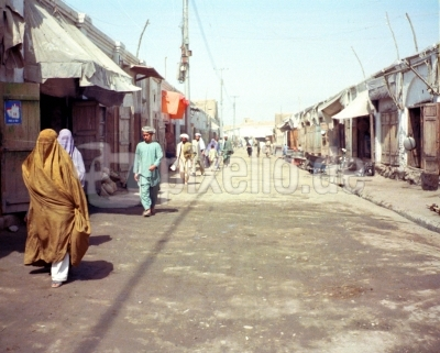 In der Stadt Herat in Afghanistan