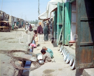 Eine Strasse in Herat ( Afghanistan )