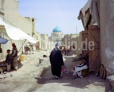 Strassenszene in Kandahar ( Afghanistan )