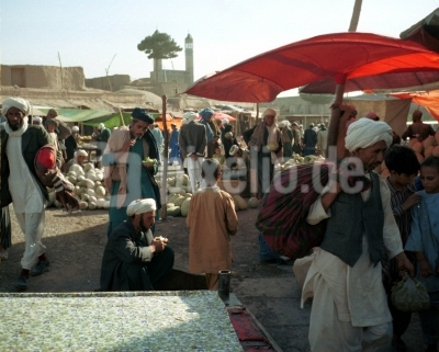 Der Markt in Kandahar ( Afghanistan )