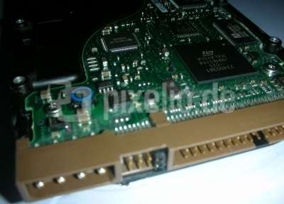 Festplatte Makro 2