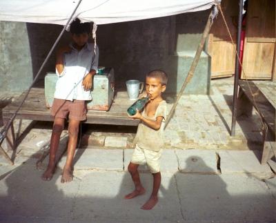 Zwei Kinder in Afghanistan