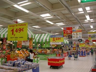 Portugal Supermarkt